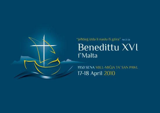 Pope Visit 2010 - Official Logo 2010 MLT