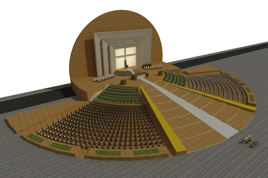 STAGE PLAN FOR FLORIANA GRANARIES EVENTS